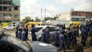 Kinshasa: Marche de deuil et d'indignation de Lamuka, les forces de l'ordre ont gazé les manifestants pour les disperser.
