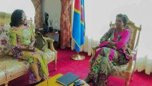 RDC: Jeannine Mabunda invitée à sensibiliser les femmes du ministère des affaires étrangères