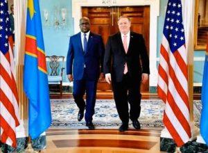 Partenariat privilégié RDC-États-unis: Tshisekedi et Pompeo se rencontrent ce mardi à Washington.