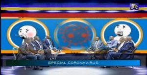Des membres du gouvernement sensibilisent contre le COVID-19.