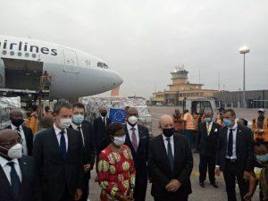 Diplomatie: Jean-Yves Le Drian, Janez Lenarcic et Philippe Goffin en mission en RDC