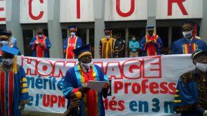 Enseignement : Les professeurs de l'UPN exigent l'amélioration de leurs conditions de travail