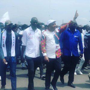 Marche de l'UDPS : Kabund se félicite de la mobilisation des militants