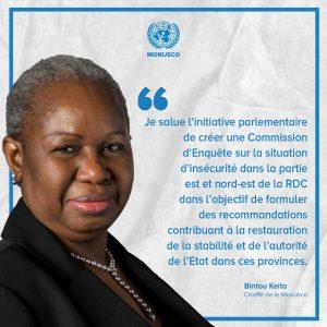 RDC:les Nations Unies prêtes à soutenir les travaux d'enquête sur l'insécurité en RDC.